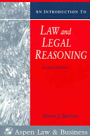 Cover of An Introduction to Law and Legal Reasoning