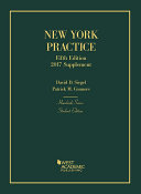 New York Practice, 5th, Student Edition, Supplement