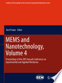 MEMS and Nanotechnology  Volume 4