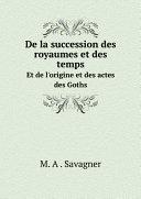Pdf De la succession des royaumes et des temps Telecharger