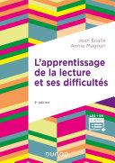Pdf L'apprentissage de la lecture et ses difficultés - 3e éd. Telecharger
