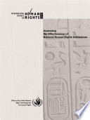 Assessing the Effectiveness of National Human Rights Institutions