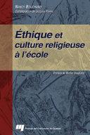 Pdf Éthique et Culture Religieuse à L'école Telecharger