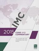 2015 International Mechanical Code Commentary Book