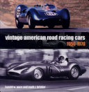 Vintage American Road Racing Cars 1950 1969