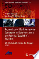 Proceedings of 15th International Conference on Electromechanics and Robotics