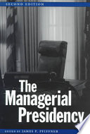 The Managerial Presidency