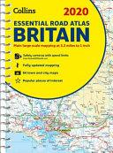 2020 Collins Essential Road Atlas Britain