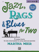 Jazz  Rags   Blues for Two  Book 4