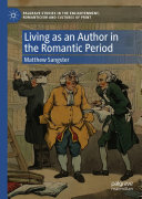 Living as an Author in the Romantic Period