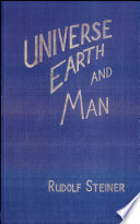 Universe  Earth  and Man