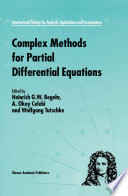 Complex Methods for Partial Differential Equations