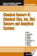 Chemical Sensors 8  Chemical  Gas  Ion  Bio  Sensors and Analytical Systems Book