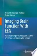 Imaging Brain Function With Eeg Book PDF
