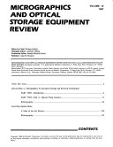 Micrographics and Optical Storage Equipment Review