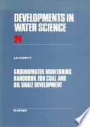 Groundwater Monitoring Handbook for Coal and Oil Shale Development