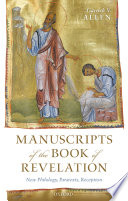 Manuscripts Of The Book Of Revelation