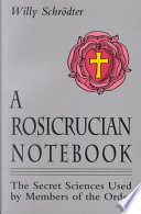 A Rosicrucian Notebook