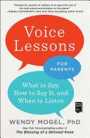 Voice Lessons for Parents Pdf/ePub eBook