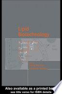 Lipid Biotechnology Book