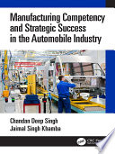 Manufacturing Competency and Strategic Success in the Automobile Industry Book