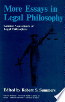 More Essays in Legal Philosophy