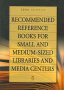 Recommended Reference Books for Small and Medium-sized Libraries and Media Centers ebook