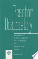 Reactor Dosimetry