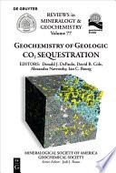 Geochemistry of Geologic CO2 Sequestration