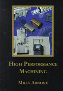 High Performance Machining Book