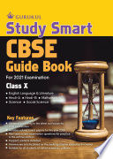Study Smart Guide Book  CBSE Class 10 for 2021 Examination