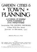 Garden Cities   Town Planning Book