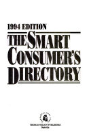 The Smart Consumer's Directory 1994