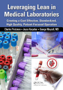 Leveraging Lean in Medical Laboratories Book