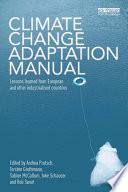 Climate Change Adaptation Manual