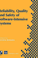 Reliability  Quality and Safety of Software Intensive Systems Book