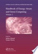 Handbook of Energy Aware and Green Computing  Volume 2