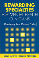 Rewarding Specialties for Mental Health Clinicians