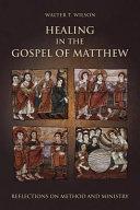 Pdf Healing in the Gospel of Matthew Telecharger