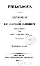Philologus Berlin