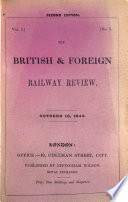 The British and Foreign Railway Review
