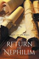 The Return of Nephilim Pdf/ePub eBook