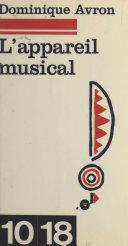 Pdf L'appareil musical Telecharger