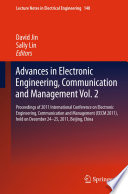 Advances in Electronic Engineering  Communication and Management Vol 2 Book