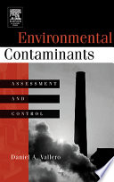Book Cover; Environmental Contaminants