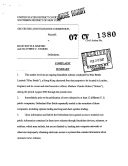 Blue Bottle Limited and Matthew C. Stokes: Securities and Exchange Commission Litigation Complaint ebook