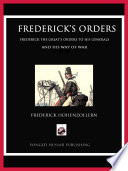 Frederick s Orders Book