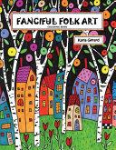 Fanciful Folk Art Coloring Book