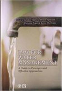 Law for Water Management Book