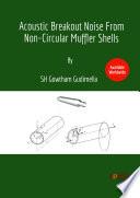 Acoustic Breakout Noise From Non-Circular Muffler Shells